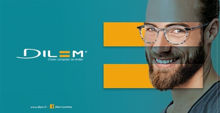 Nouvelle quantité limitée acheter réel Modèles de lunettes de la marque DILEM - ACV