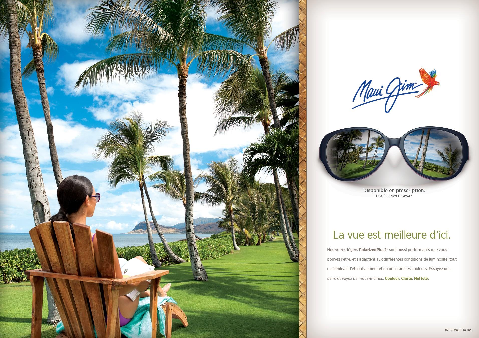 Nos lunettes de soleil ne vont pas changer le monde, seulement la façon  dont vous le voyez. 90c2dd4c9173