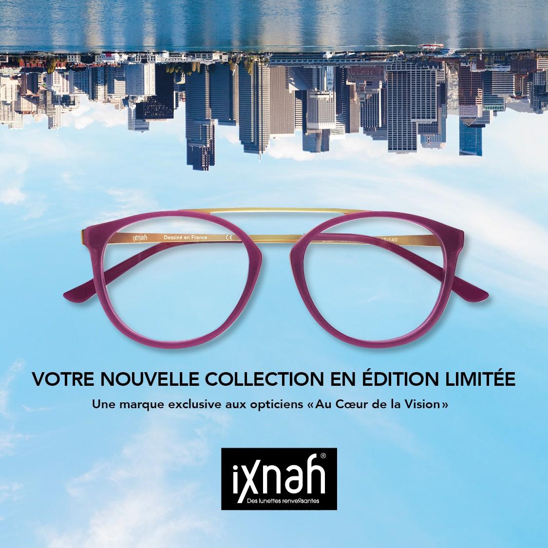 395fb0ab87 iXnah®,la marque de lunettes renveRsantes. Un nom et un look qui ne passent  pas inaperçu !